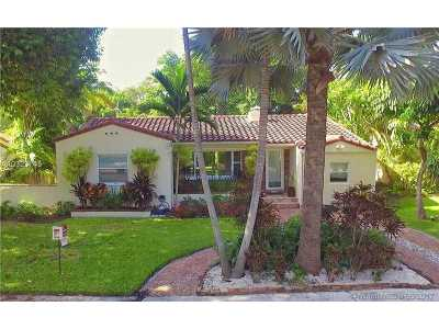 Miami Shores Single Family Home Active-Available: 1022 Northeast 91st Ter