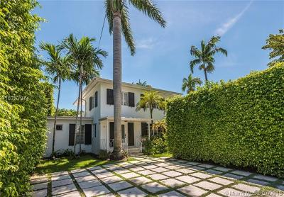 Miami Beach Single Family Home For Sale: 1510 W 22nd St