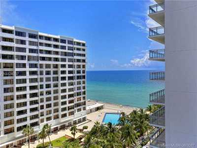 Hollywood Condo Active-Available: 3535 South Ocean Dr #906