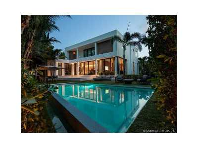 Key Biscayne Single Family Home Active-Available: 301 Palmwood Ln