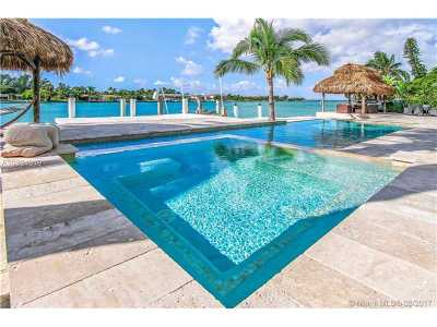 Miami Beach Single Family Home For Sale: 1366 S Biscayne Point Rd