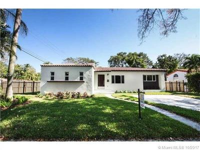 Miami Shores Single Family Home Active-Available: 186 Northeast 106th St
