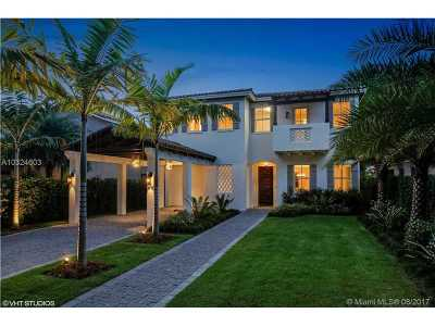 Coral Gables Single Family Home Active-Available: 1417 Sorolla Ave