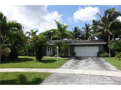 Plantation Single Family Home Active-Available: 7300 Northwest 13th Ct