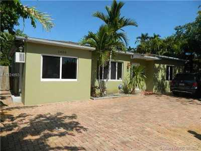 Fort Lauderdale Single Family Home Active-Available: 1420 Northeast 15th Ave