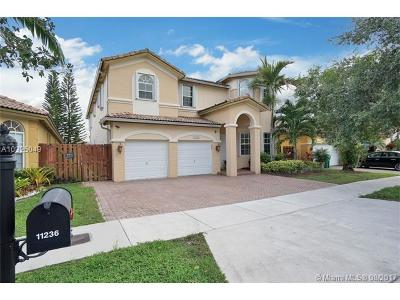 Doral Single Family Home Active-Available: 11236 Northwest 77th Ter