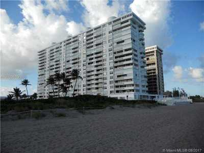 Boca Raton Condo For Sale: 1200 S Ocean Blvd #5G