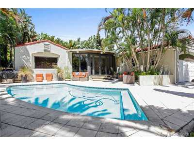 Miami Single Family Home Active-Available: 2828 Royal Palm Ave