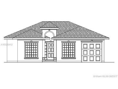 Miami Gardens Single Family Home Active-Available: 3291 Northwest 212th St