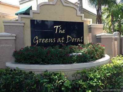 Doral Condo Active-Available: 9721 Northwest 49th Ter #401
