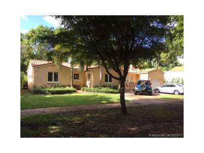 Coral Gables Single Family Home Active-Available: 814 Medina Ave