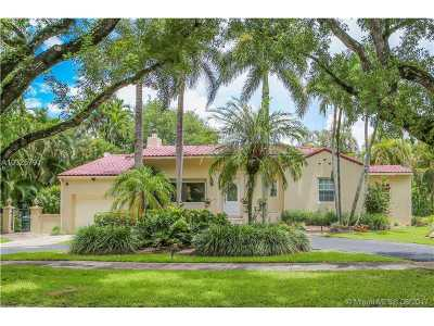 Coral Gables Single Family Home Active-Available: 3915 Monserrate