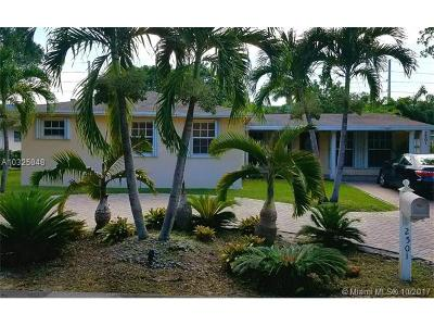 Wilton Manors Single Family Home For Sale: 2501 NW 8th Avenue