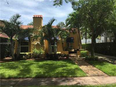 Coral Gables Single Family Home Active-Available: 645 Minorca Ave