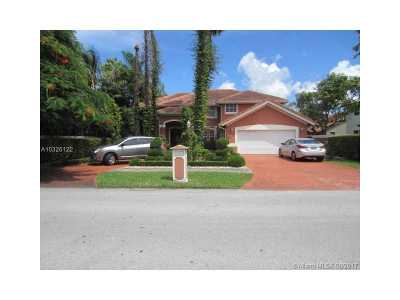 Miami Single Family Home Active-Available: 7531 Southwest 93 Place