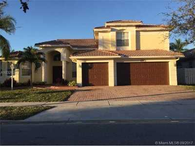 Pembroke Pines Single Family Home Active-Available: 13985 Northwest 22nd Ct