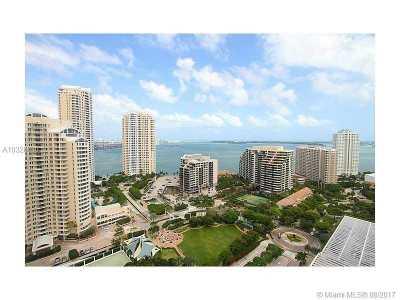 Miami Condo Active-Available: 801 Brickell Key Bl #2712