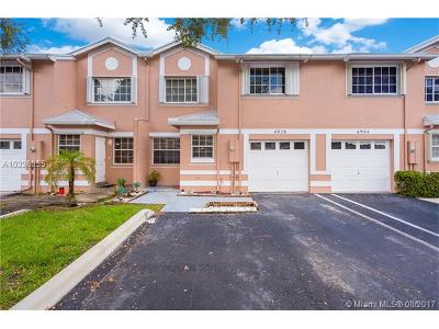 Cooper City Condo Active-Available: 4938 Southwest 123rd Ter #4938