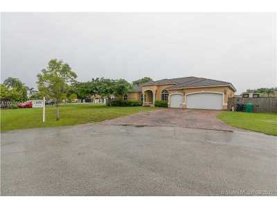 Miami Single Family Home Active-Available: 13008 Southwest 188th St