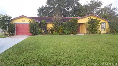 Tamarac Single Family Home Active-Available: 5700 Northwest 70th Ave
