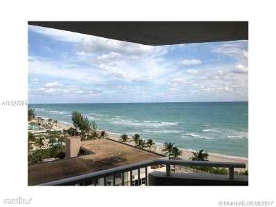 Hallandale Condo Active-Available: 1950 South Ocean Dr #9H