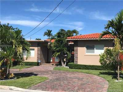 Surfside Single Family Home Active-Available: 8843 Hawthorne Ave