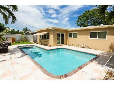 Fort Lauderdale Single Family Home Active-Available: 2051 Southwest 32nd Ter