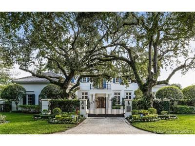 Coral Gables Single Family Home Active-Available: 1200 Blue Rd