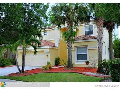 Miramar Single Family Home Active-Available: 4840 Southwest 161st Ln