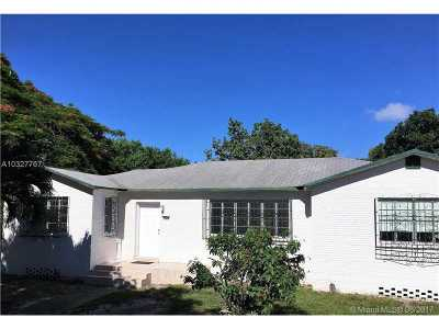 Miami Single Family Home Active-Available: 211 Northwest 24 Ct