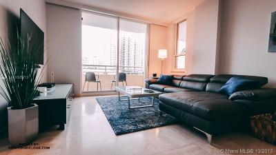 Miami Rental For Rent: 888 Brickell Key Dr #602