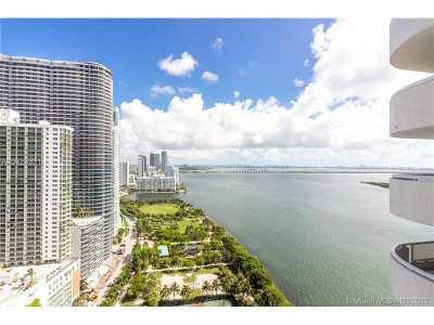 Miami Condo Active-Available: 1717 North Bayshore Dr #A-3338