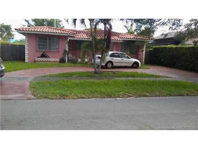 West Miami Single Family Home For Sale: 5871 SW 12 St