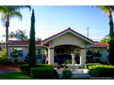 Miami Single Family Home Active-Available: 9945 Southwest 74th St