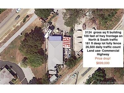 Commercial For Sale: 98750 Overseas Highway