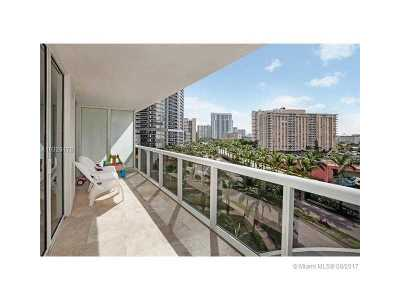 Hallandale Condo Active-Available: 1800 South Ocean Dr #607