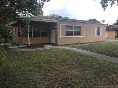 North Miami Single Family Home Active-Available: 941 Northeast 140th St