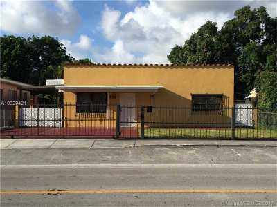 Hialeah Single Family Home Active-Available: 134 West 32nd St