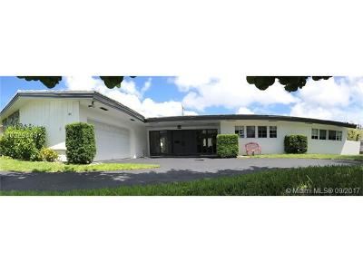 Miami-Dade County Single Family Home Active-Available: 1411 Northeast 103 Street