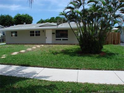 Fort Lauderdale Single Family Home Active-Available: 4860 Northwest 9th Ter