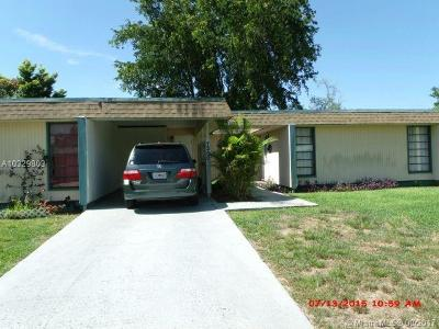 Tamarac Single Family Home Active-Available: 7200 Northwest 68th St