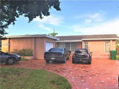 Miramar FL Single Family Home Active-Available: $149,000