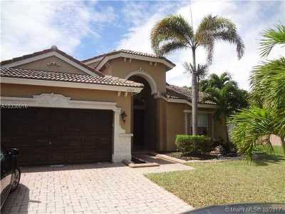 Miramar Single Family Home Active-Available: 2700 Southwest 194th Ter