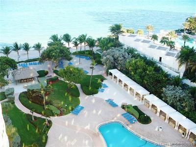 Hollywood Condo Active-Available: 3000 South Ocean Dr #502