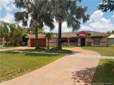 Miami Single Family Home Active-Available: 22031 Southwest 127th Ave