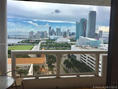 Miami Condo Active-Available: 1717 North Bayshore Dr #A-1852