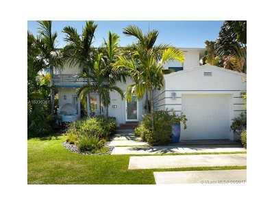 Miami Beach Single Family Home For Sale: 1430 Lenox Av