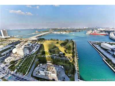 Miami Condo Active-Available: 900 Biscayne Blvd #3703