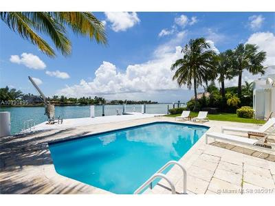 Single Family Home For Sale: 1350 S Biscayne Point Road