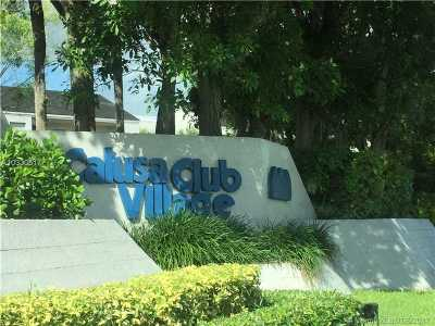 Miami Condo Active-Available: 8811 Southwest 132nd Pl #108CW